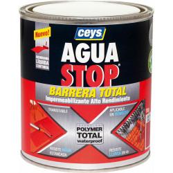 Impermeabilizante Polimero Liquido Rojo 1kg Aguastop Ceys