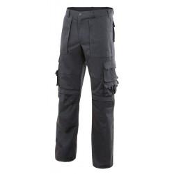 Pantalon Multibol Azul Marino Compartimento Rodillera T-xxl