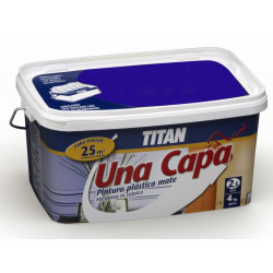 Pintura Plastica Mate Titan Una Capa 2,5lt Purpura