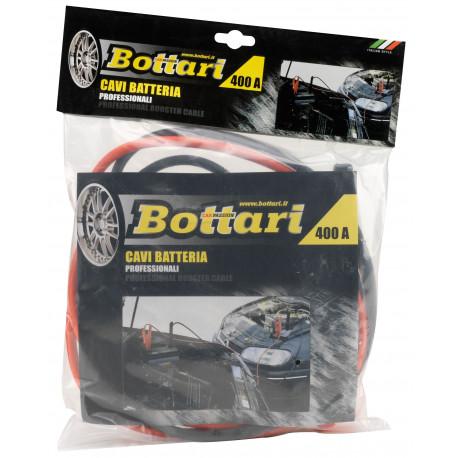 Pinzas Bateria 400 Amperios Con Cable De 10mm 2mtrs Bottari