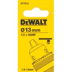 """Portabrocas 13mm+llave Rosca Hembra 1/2""""x20 Dt7012-qz Dewalt"""