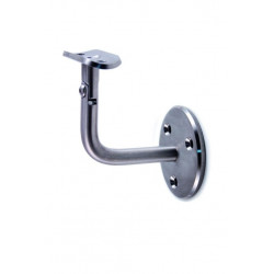Soporte Pasamanos Pared Regulable Inox 304 Tubo Ø42,4mm