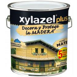 Protector Lasur Para Madera Mate Castaño 4lt Xylazel Plus