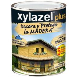 Protector Lasur Para Madera Mate Teca 750ml Xylazel Plus