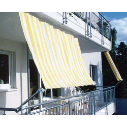 Toldo Balcon 270x140cm Amarillo/blanco