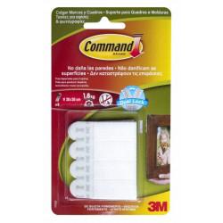 Tiras Adhesivas Para Cuadros Pequeñas Command (blister 8pz)