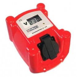Protector Generador De 160 A 280v Digital Inverkontrol Di230