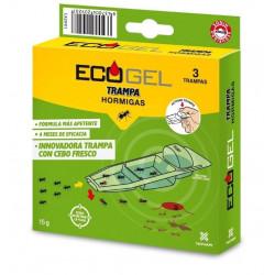 Ecogel Hormigas Trampa 15 Gr (3 Unidades)