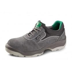 Zapato Serraje+textil S1p Transpirable Gris Onix T38