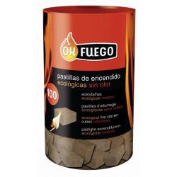 Pastillas Encendido Ecologicas 100 Un.