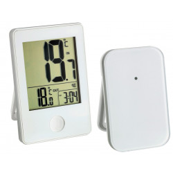 Termometro Digital Int. Ext. Blanco Sensor Temperatura