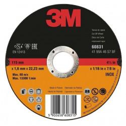 Disco Corte Metal T42 125x3,2mm