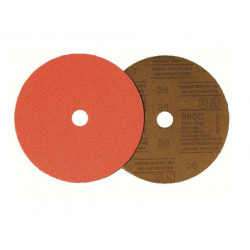 Disco Lija  Cubitron 985c 125x22mm Grano 80