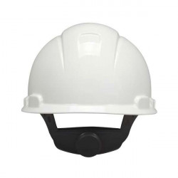 Casco Obra H700 Ajustable Con Ruleta Blanco