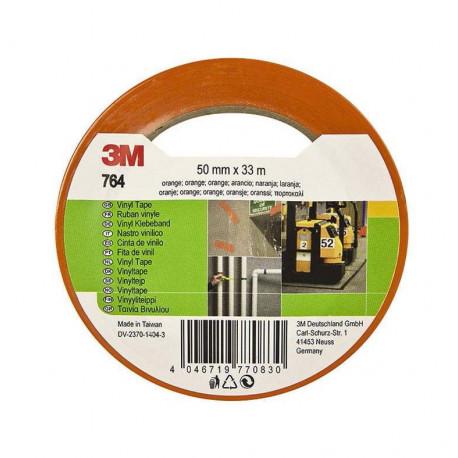 Cinta Marcacion Vinilo 764i 33mx50mm Naranja