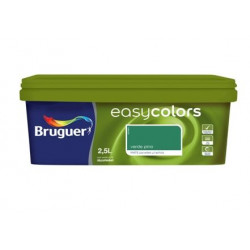 Pintura Plastica Mate Monocapa Easy Colors Verde Pino 2,5l