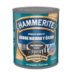 Esmalte Antioxidante Hammerite Satinado Negro 2,5l
