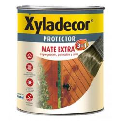 Protector Para Madera Mate Nogal 3 En 1 2,5l Xyladecor