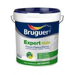 Pintura Plastica Mate Blanca Exterior Expert 04 Lts Bruguer