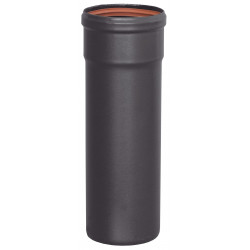 Tubo Estufa Pellet Diametro 80 250mm Esmaltado
