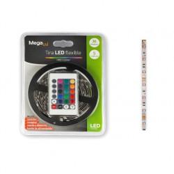 Tira Led 5mt Luz Rgb 16 Colores 150lm/mt C/transformador