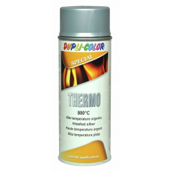 Pintura Anticalorica Hasta 800ºc Plata Spray 400ml Motip