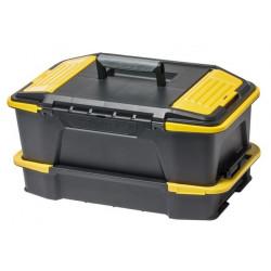 """Caja Herramientas Plastico 506x313x246mm Click N""""connect"""