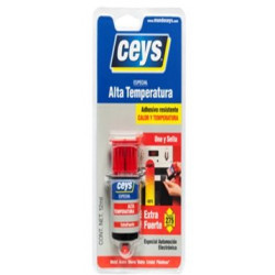 Pegamento Altas Temperaturas Extra Fuerte 12ml Ceys