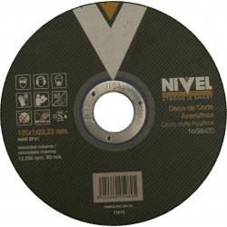 Disco Corte Inoxidable 125x1x22