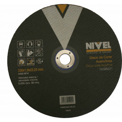 Disco Corte Inox 230x1,8x22 Mm Nivel