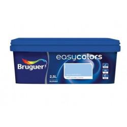 Pintura Plastica Mate Monocapa Easy Colors Azul Adriati 2,5l