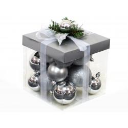 Adorno Navidad Decoracion Bola Set 18 Juinsa