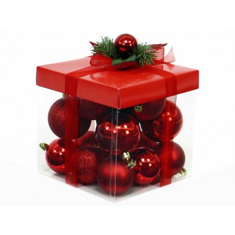 Adorno Navidad Decoración Bola Set 18