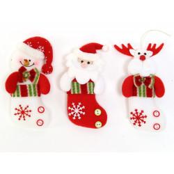 Calcetin Decoracion Navidad Juinsa 14,5 Cm