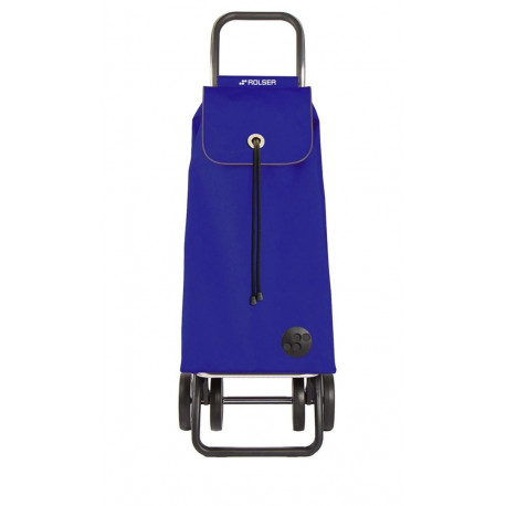 Carro Compra 4r 43lt Plegable Imax Liso Azul Rolser