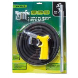 Pistola Arenar/granillar Max.9bar 100lt/min Mang.12x18mm 3mt