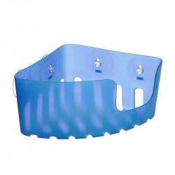Cestillo Baño Rinconero Fijacion Ventosa Azul