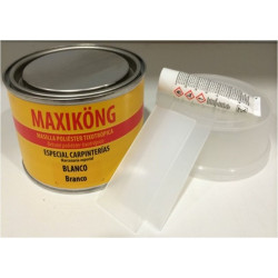 Masilla Poliester Tixotropica 500gr Pino + Activador 15gr