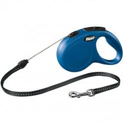 Correa Extensible Perro 5mt Flexi New Classic S Azul