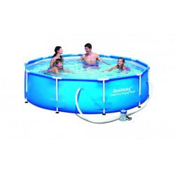 Piscina Portatil 305x76cm 4678 Lt Steel Pro Frame Pool