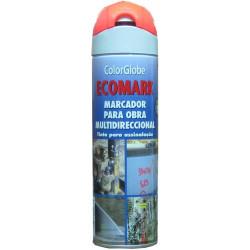 Pintura Marcaje Obra Fluor. Spray Ro 500 Ml Crc