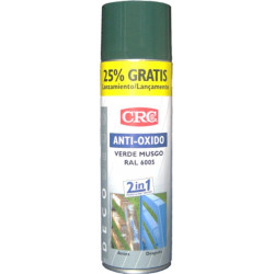 Pintura Anticorrosion Ral 6005 Zinc+verde Musgo Spray 500ml