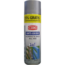 Pintura Anticorrosion Ral 9006 Zinc+plata Spray 500ml