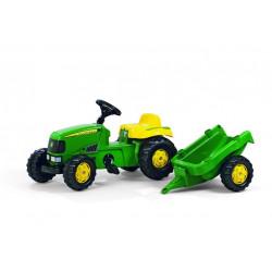 Tractor Para Niños Con Remolque