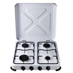 Cocina Portatil De Gas 4 F 515x510x95mm 1,4/1,2/1,2/0,85 Kw