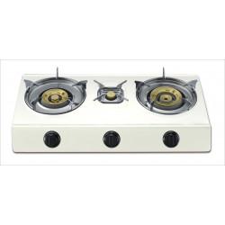 Cocina De Gas 3 Fuegos 700x370x80 Cm 4,3/3,4/0,75 Kw