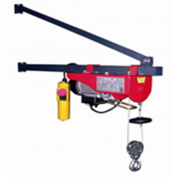 Polipasto Electrico 0,5cv 100/200kg 210x445x170mm