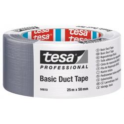 Cinta Americana Basic Plata 25mtx48mm Tesa Tape 04610