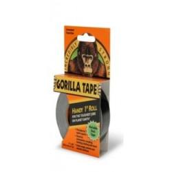 Cinta Americana Gorilla Negra 09mtx25,4mm Tricapa Doble Gros
