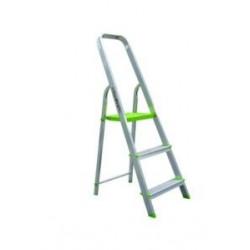 Escalera Domestica Aluminio 3 Peldaños